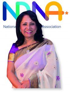 Purnima and NDNA logo
