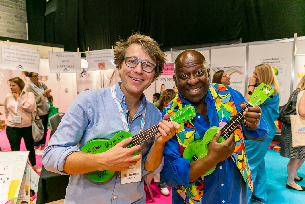 Ben Faulks and Dave Benson Phillips