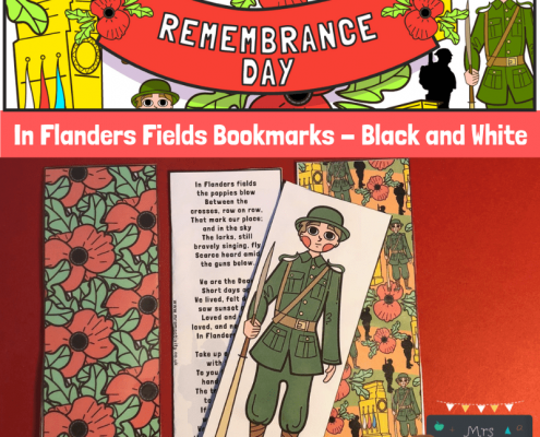 Mrs Mactivity - In Flanders Fields Bookmark Colour