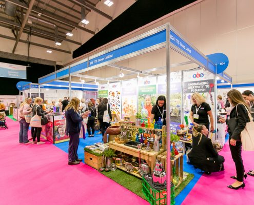 Childcare Expo Midlands Stand