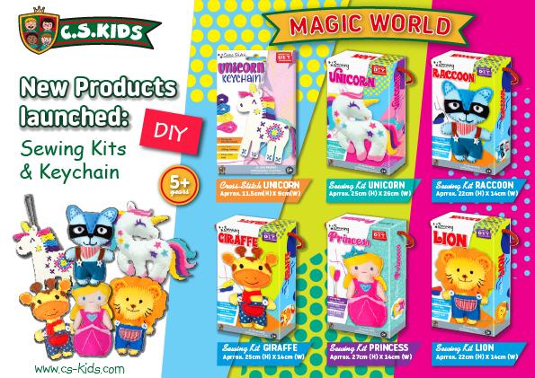 C.S Kids sewing kits