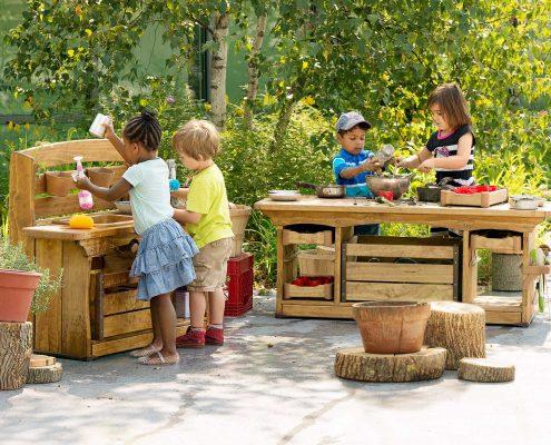 Community Playthings - Mud kitchen