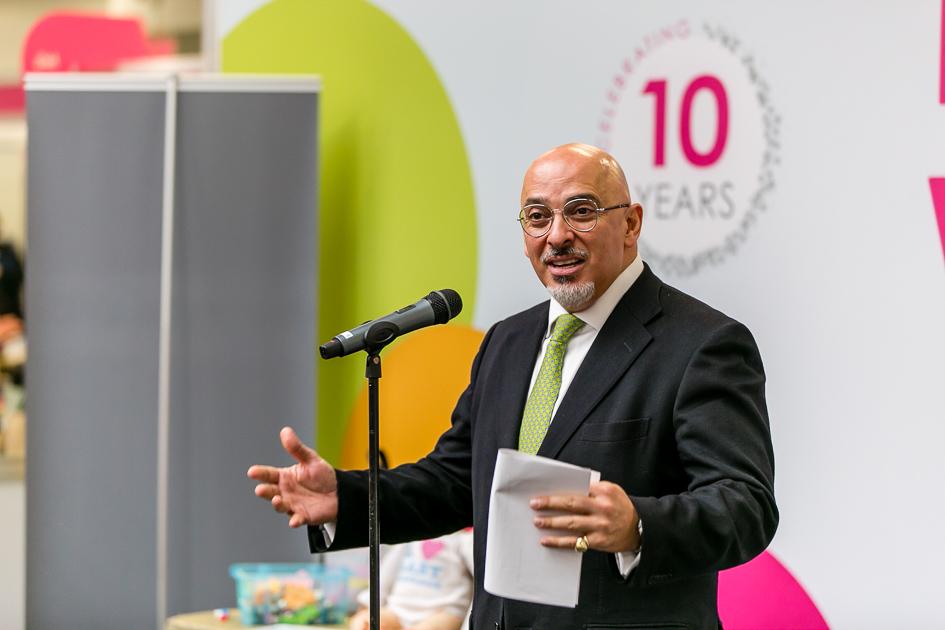 Childcare Expo London 2019 - Nadhim Zahawi MP