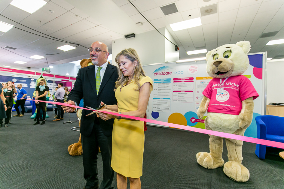 Childcare Expo London - show opening