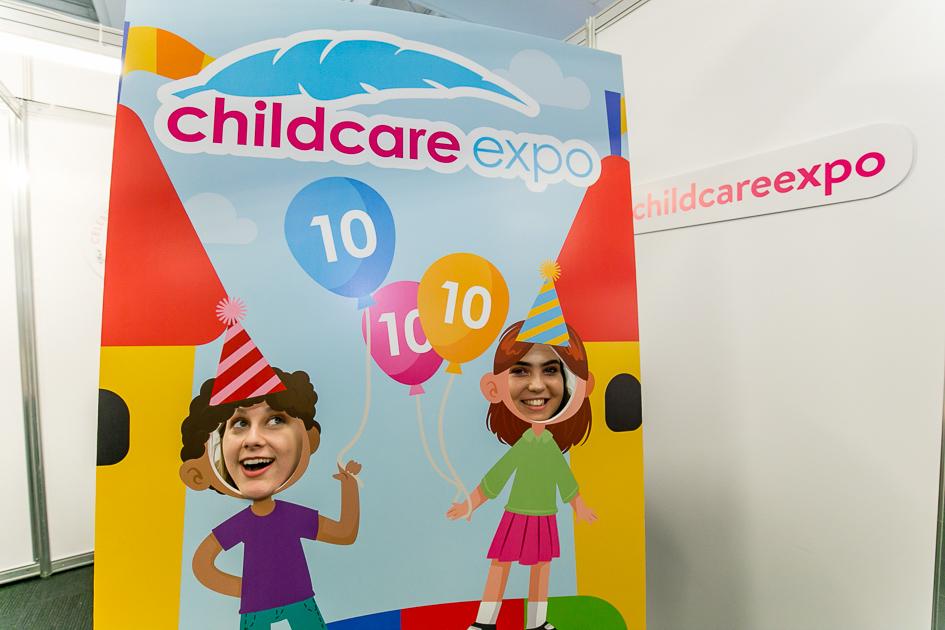 Childcare Expo 10th birthday