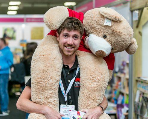 Almas teddy bear