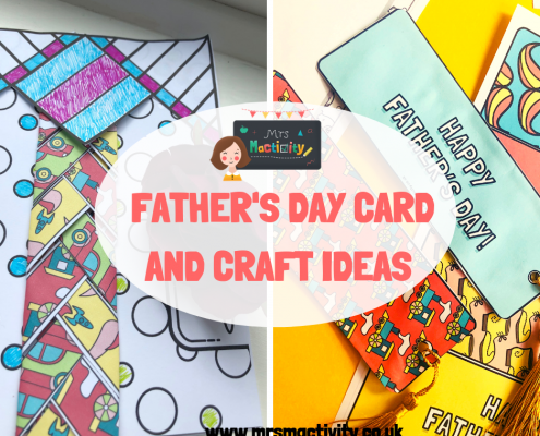 Mrs Mactivity - father's day card ideas