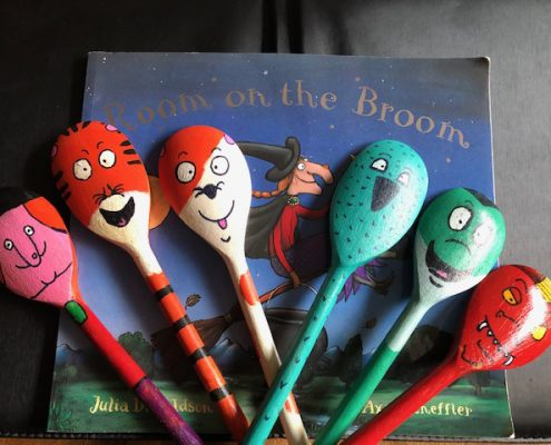 Room on the broom spoons